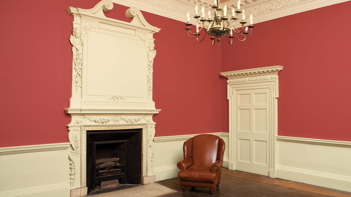 Living room painted in Blazer No.212 | Estate Emulsion and String No.8 in Soft Distemper