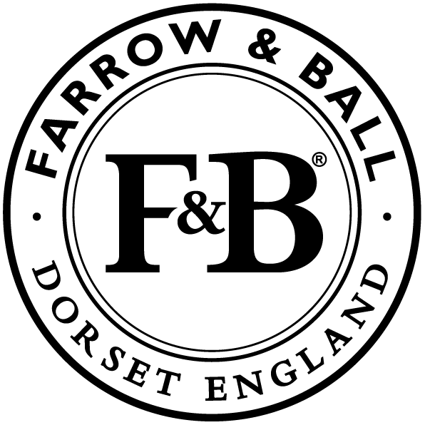 Farrow & Ball round logo.