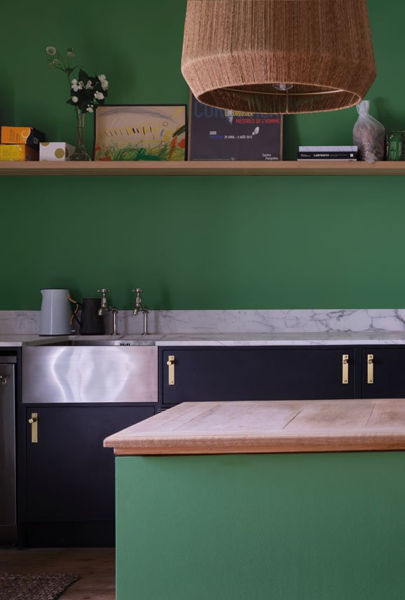 Farrow & Ball Emerald Green No.W53