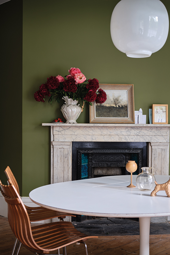 Farrow & Ball Sap Green No.W56