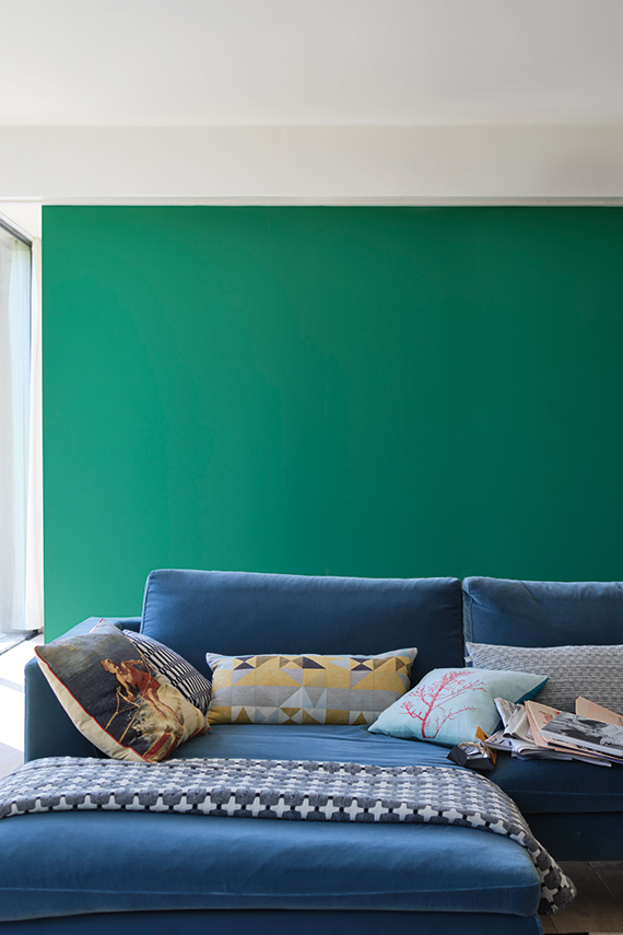 Farrow & Ball Verdigris Green No.W50