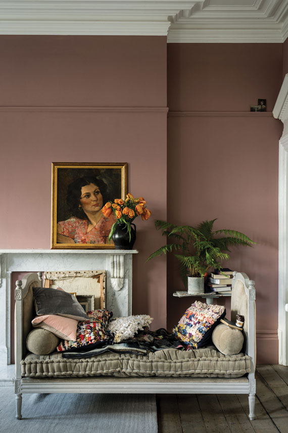 Farrow & Ball Sulking Room Pink No.295
