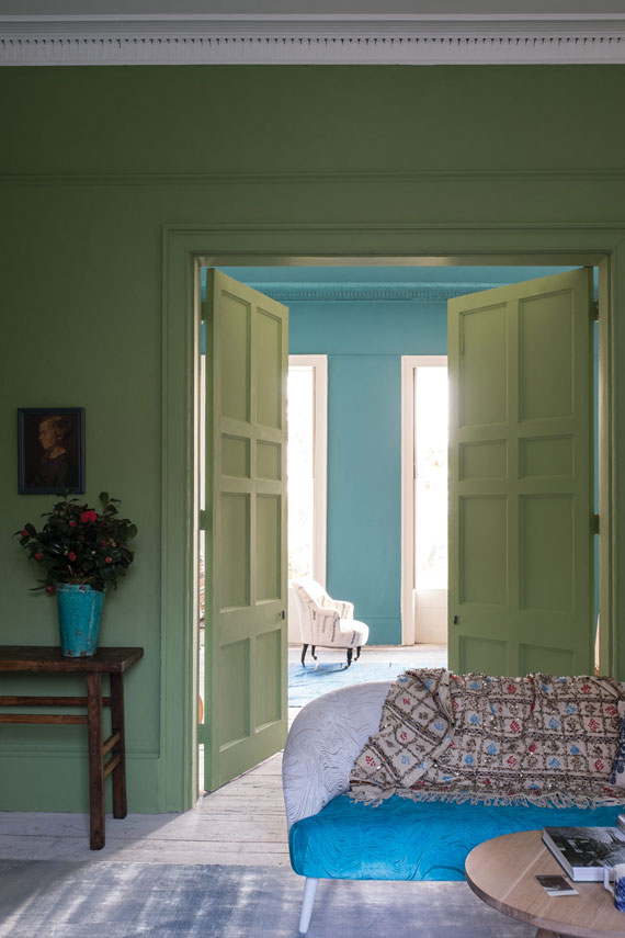 Farrow & Ball Yeabridge Green No.287
